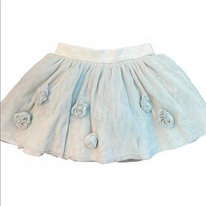 ✨3 for $30✨2T Girls Silver Sparkly Tutu Skirt